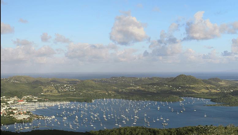 Marina du port du marin Martinique