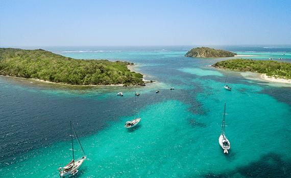 Lagon Tobago Cays
