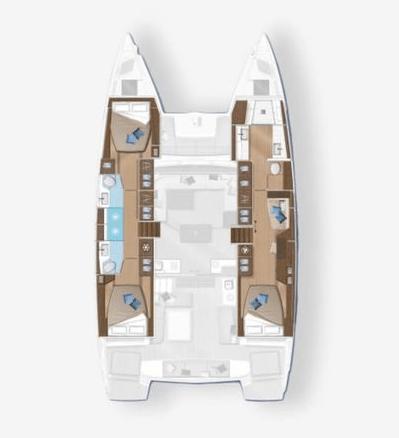 Lagoon 42 plan