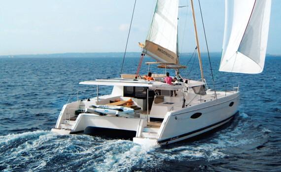 Helia 44 Mermer Location catamaran martinique pour votre crosière aux Grenadine