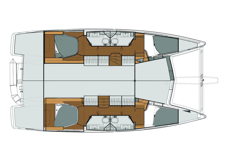 Location catamaran croisière grenadines - Location bateau le marin - Location bateau martinique - Lucia 40