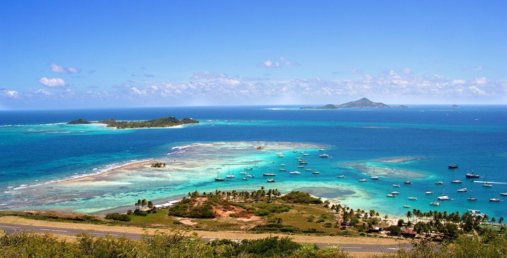 Union Island - Croisière aux Grenadines avec Mermer Location Catamaran au départ de la Martinique