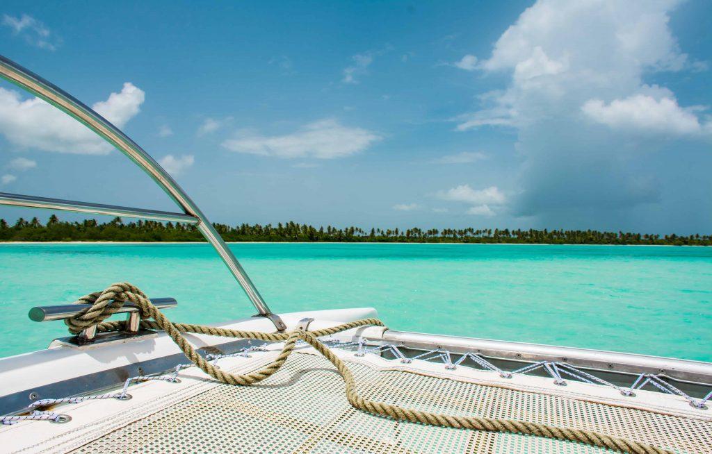 Polynésie française croisière en catamaran